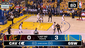 NBA Last 90 Demo